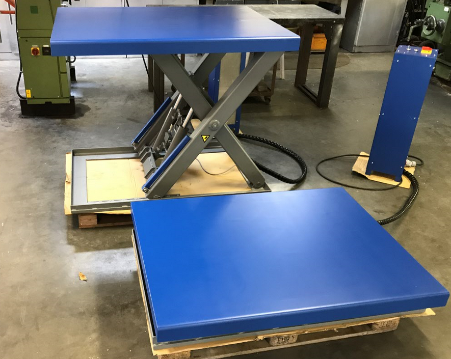 heftafel blauw